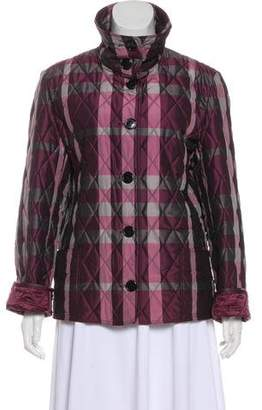 Burberry Overdyed Check Jacket w/ Tags