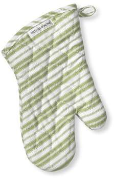 Williams-Sonoma Williams Sonoma Stripe Oven Mitt, Sage Green