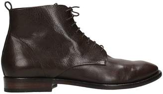 Buttero Brown Leather Boots