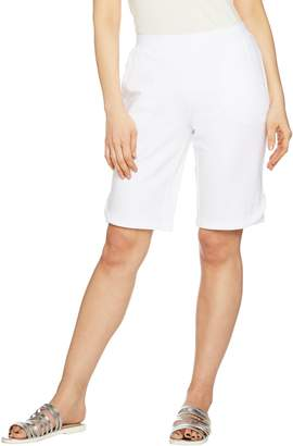 Denim & Co. Active Bermuda Shorts with Stitch Detail