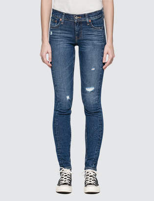 """Levi's Mix Tape"""" 711 Asia Skinny Altered Jeans"""
