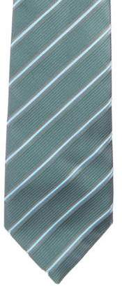 Charvet Striped Jacquard Silk Tie