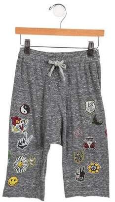 Lauren Moshi Girls' Mélange Harem Pants