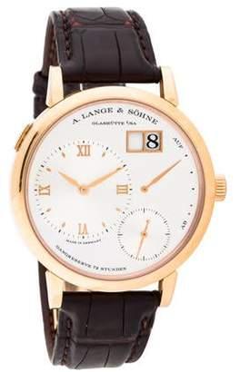 A. Lange & Söhne Grand Lange 1 Watch