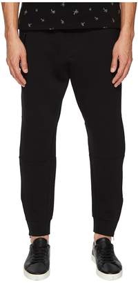 The Kooples Sweatpants with Chain and Zipper Detailing Men's Casual Pants