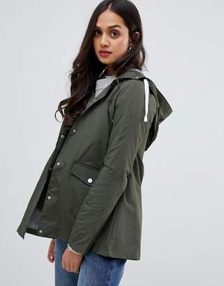 Brave Soul digger rain coat