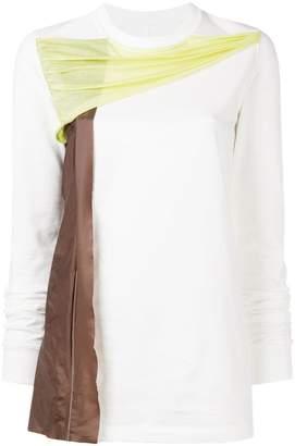 Rick Owens long sleeved sweatshirt