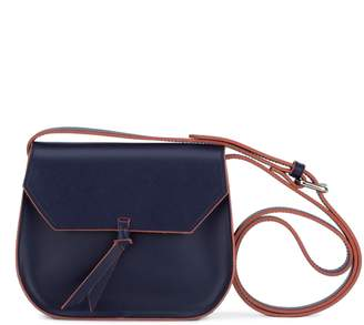 Alexandra de Curtis Jolie Mini Saddle Navy Blue