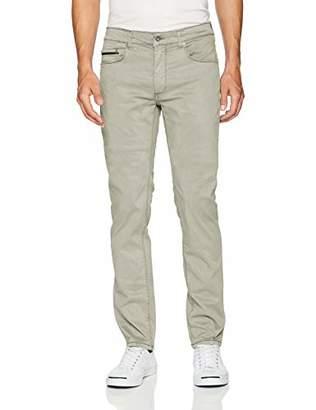 "Bugatchi Men's Five Pocket Cotton Stretch Pants "" Inseam"