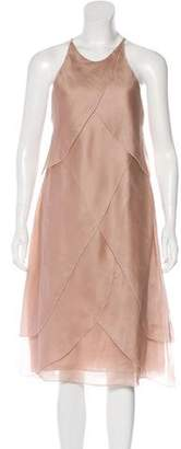 Giorgio Armani Sleeveless Silk Dress