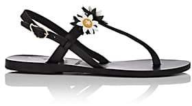 Ancient Greek Sandals Women's Sylvie Leather Sandals-Black