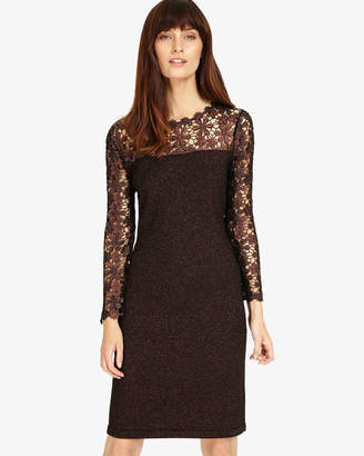 Phase Eight Suzy Foil Lace Dress