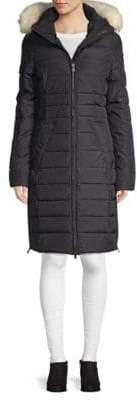 Ventura Fox Fur-Trimmed Jacket