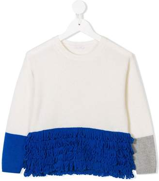 Il Gufo colour block jumper