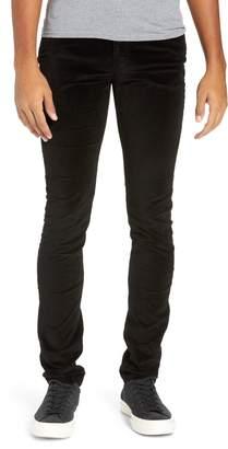 Monfrere Greyson Velvet Skinny Fit Jeans