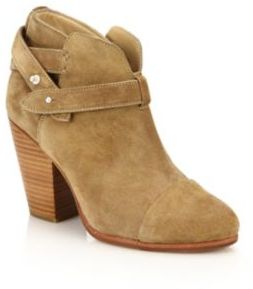 Rag & Bone Harrow Suede Bootie $495 thestylecure.com