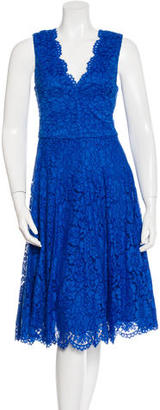 Vera Wang Lace A-Line Dress $175 thestylecure.com