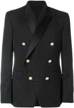 Balmain double-breasted bib blazer