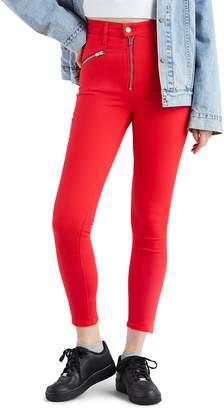 Levi's Moto T2 High Waist Ankle Jeans