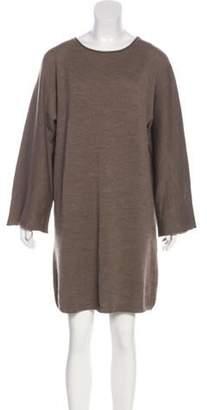 Joseph Wool Long Sleeve Sweater Dress wool Wool Long Sleeve Sweater Dress