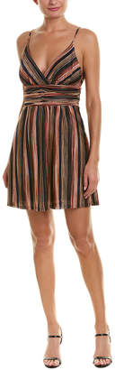 BCBGeneration Striped Mini Dress
