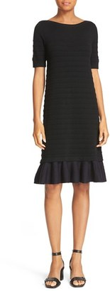 Women's Tory Burch Giselle Textured Merino Wool Sweater Dress $375 thestylecure.com