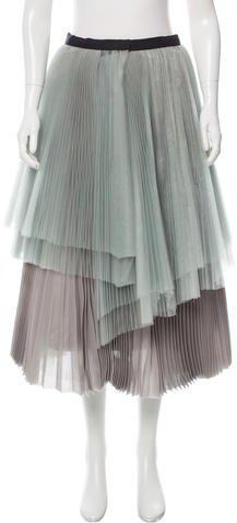 Marc by Marc Jacobs Mesh Midi Skirt