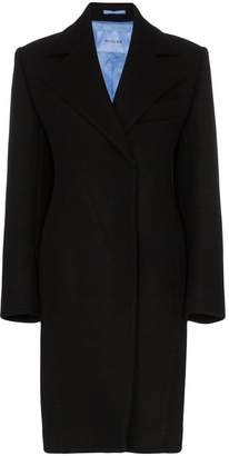 Thierry Mugler tailored mid length coat