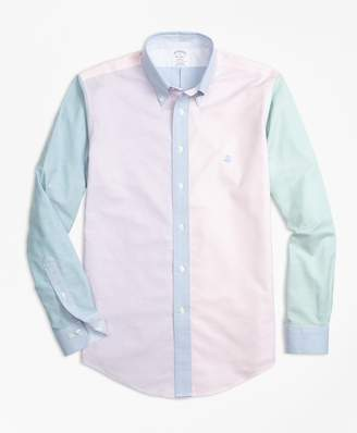 Brooks Brothers Non-Iron Regent Fit Supima Cotton Oxford Fun Sport Shirt
