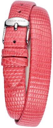 Philip Stein Teslar Women's Leather Watch Strap