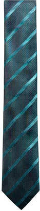 Alfani Men Stripe Slim Silk Tie