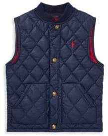 Ralph Lauren Little Boy's& Boy's Quilted Vest