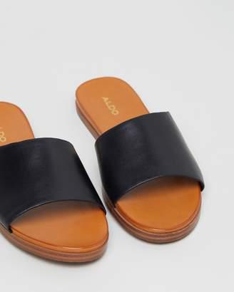 2c3efac8ead Aldo Leather Upper Sandals For Women - ShopStyle Australia