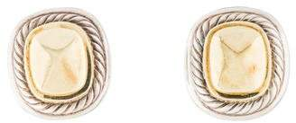 David Yurman Two-Tone Albion Earrings