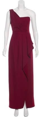BCBGMAXAZRIA One-Shoulder Maxi Dress