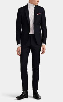 Roberto Cavalli MEN'S WOOL TWO-BUTTON SUIT - BLACK SIZE 44 R