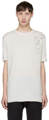 Damir Doma Grey Charles Madd Edition Tayyip T-Shirt