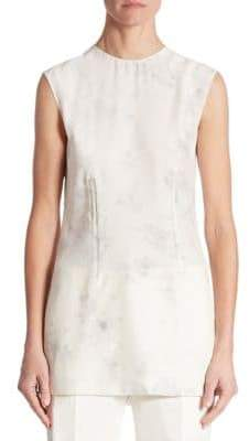 Calvin Klein Collection Sleeveless Faded Blouse