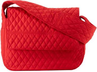 Norma Kamali Quilted Shoulder Sack Bag