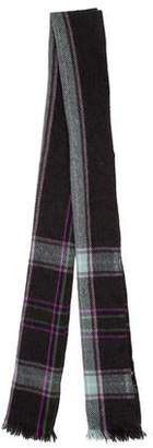 Etro Wool Patterned Scarf