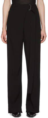 Ann Demeulemeester Black Belt Trousers