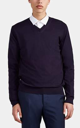 Lanvin Men's Cashmere V-Neck Sweater - Lt. Blue