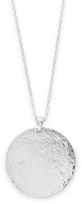 Gurhan Women's 0.925 Sterling Silver Disc Pendant Necklace