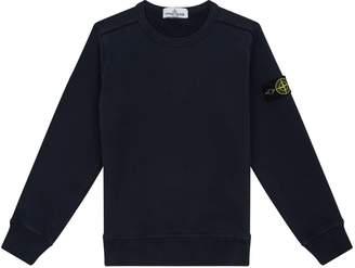 Stone Island Junior Crew Neck Sweatshirt