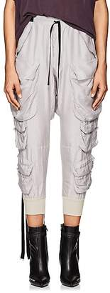 Taverniti So Ben Unravel Project Women's Washed Silk Cargo Pants