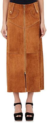 Derek Lam Women's Suede A-Line Skirt $3,200 thestylecure.com