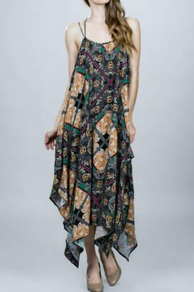 Ark & Co Uneven Hem Dress