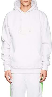 Wu Wear Men's Logo Cotton-Blend Fleece Hoodie