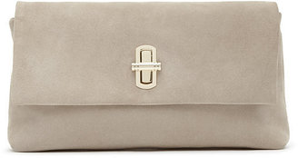 Lovello Suede Clutch $265 thestylecure.com