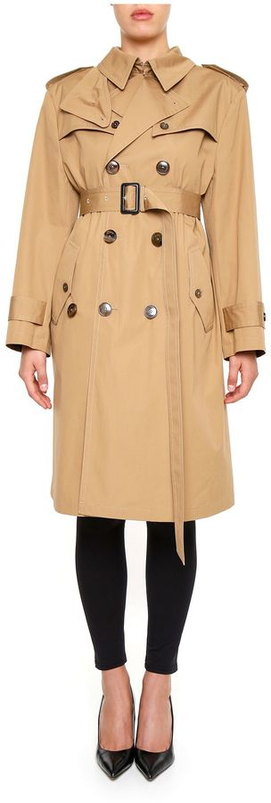 Balenciaga  Swing Trench Coat